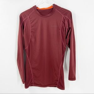 TESLA Large Cool Dry Long Sleeve Compression Shirt